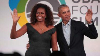 صورة أوباما مازحًا: لن أعمل في إدارة بايدن خوفًا من زوجتي !