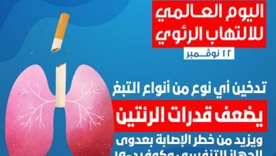 صورة التدخين يُضعف رئتيك ويُعرضك لخطر الإصابة بعدوى الجهاز التنفسي وكوفيد-19