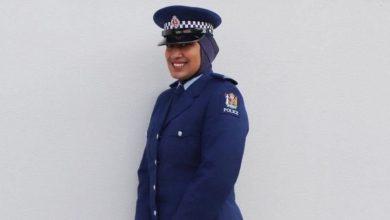 صورة «زينا» أول شُرطية ترتدي الحجاب بشكل رسمي في نيوزيلندا
