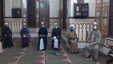 صورة د. حسني أبو حبيب يشدد علىتكثيف حملات نظافة وتعقيم مساجد الفيوم