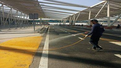 صورة الطيران المدني تكثف عمليات تعقيم المطارات المصرية احترازًا من كورونا