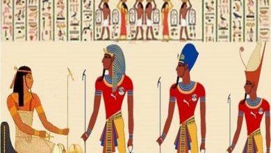 صورة جدران المعابد تحكي تفاصيل حياة المصري القديم منذ فجر التاريخ