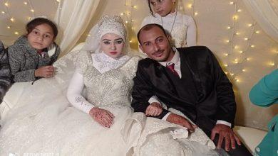 صورة زفاف رائع لـ كريم ودنيا السمالوسي.. «شارع الصحافة» تبارك للعروسين وعائلتيهما