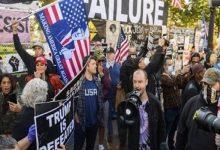 صورة أنصار «ترامب» يثيرون الفوضى في الكونجرس.. وعمدة واشنطن تعلن حظر التجول