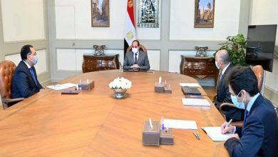 صورة الرئيس يوجه باحتواء تداعيات «كورونا» والحفاظ على الاستقرار النقدي والمصرفي