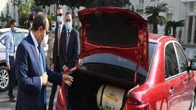 صورة السيسي: مبادرة إحلال السيارات للعمل بالغاز تحقق عوائد مباشرة لصالح المواطنين