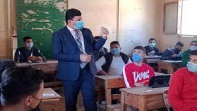 صورة مدير «تعليم يوسف الصديق» يتفقد سير الامتحانات بلجان مدارس القرى والمركز