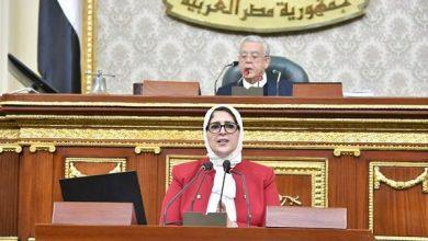 صورة مصر.. «هالة زايد» تستعرض- أمام مجلس النواب- جهود وزارة الصحة خلال عامين