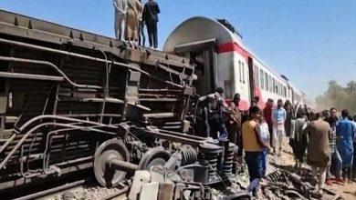 صورة كارثة قطار سوهاج.. أصابع الاتهام ترجح مسؤولية سائق القطار الثاني
