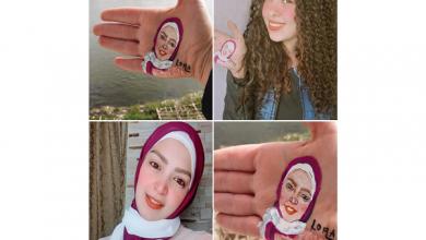 صورة مصر.. «بنت الصعيد» تخطف أنظار رواد مواقع التواصل بلوحات فنية على «كف اليد»