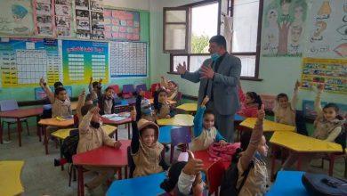 صورة مدير تعليم يوسف الصديق يواصل جولاته الميدانية لمتابعة سير العمل في مدارس الإدارة