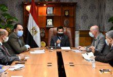 صورة وزير الرياضة يتابع تجهيزات استضافة مصر لبطولة العالم للخماسي الحديث
