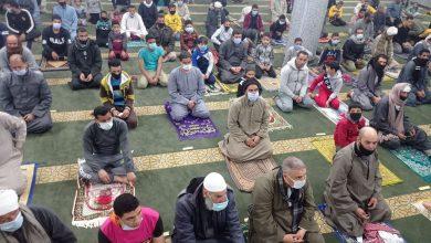 صورة بالصور.. إقامة أول صلاة للتراويح بمسجد حمزاوي البحري التابع لأوقاف يوسف الصديق