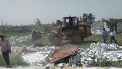 صورة خلال فترة الإجازة.. إزالة تعديات الأراضي الزراعية على مستوى الجمهورية