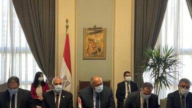صورة وزير الخارجية المصري يبحث مع المبعوث الأمريكي مستجدات مفاوضات سد النهضة