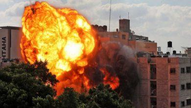 صورة وقف إطلاق النار في غزة برعاية مصرية.. والفظائع الإسرائيلية وصمة عار  في جبين الإنسانية