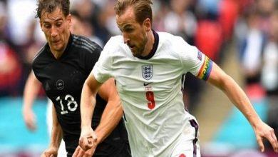 صورة انتصار تاريخي لمنتخب إنجلترا على ألمانيا بهدفين نظيفين  في يورو 2020