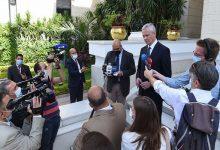 صورة وزير الاقتصاد والمالية الفرنسي: توجيهات من «ماكرون» بتعزيز الشراكة الاستراتيجية مع مصر