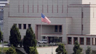 صورة إطلاق صافرات الإنذار في السفارة الأمريكية ببغداد وأنباء عن إسقاط طائرة مسيرة