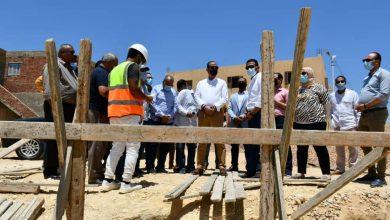 صورة محافظ الفيوم يتفقد سير العمل بعدد من مشروعات «حياة كريمة» بمركز يوسف الصديق