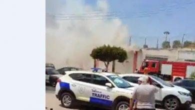 صورة الصور.. اندلاع حريق داخل سجن المنصورة العمومي بالدقهلية
