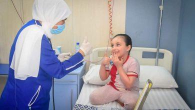 صورة تماثل الطفلة الفلسطينية «بيان» للشفاء من مرض البثرية الصديدية النادر
