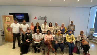 صورة د.سامية أبو النصر في ندوة المنتدى الإستراتيجي: المرأة هي السند الحقيقي للدولة