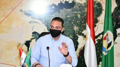 صورة محافظ الفيوم يتابع التطعيم بالمصالح الحكومية ويوجه بمنع سير (التوك توك) على الطرق الرئيسية