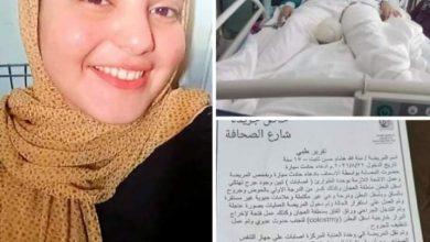 صورة مأساة ابنة أسيوط.. وإنسانية الرئيس عبد الفتاح السيسي