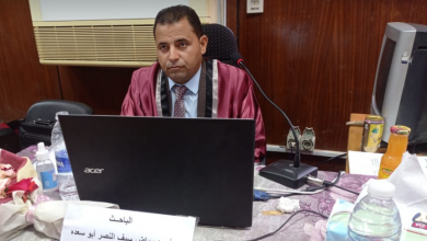 صورة أحمد رياض يحصل على ماجستير الإدارة الإستراتيجية المدرسية من «تربية الفيوم».. مليون مُبارك