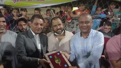 صورة «الحامولي» يفوز بكأس خالد عبدالعزيز الجارحي.. وأسرة الراحل تكرم المنظمين والمشاركين