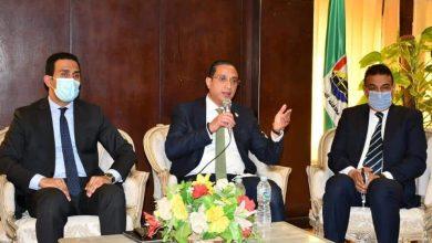 صورة خلال لقائه نواب البرلمان.. محافظ الفيوم يناقش خطط التوسع في التطعيم بلقاح «كورونا»