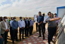 صورة محافظ الفيوم ونائب وزير الإسكان يتفقدان الأعمال الإنشائية لمحطتي صرف شكشوك والحامولي