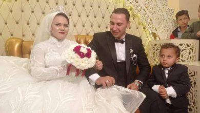 صورة أبناء السمالوس وعائلة أصيلة يحتفلون بزفاف إسراء حسين ومحمد علي